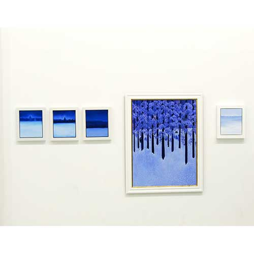 Oil paintings by Angela Summerfield, 'The Landscape of Memory' NoFormat Gallery, 2012