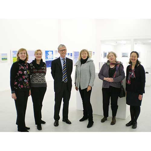 (left to right) Caroline Summerfield, Angela Summerfield, H.E. Mr Kim Traavik (The Norwegian Ambassador), Therese Nortvedt, Hjørdis Dreschel and Sara Lee